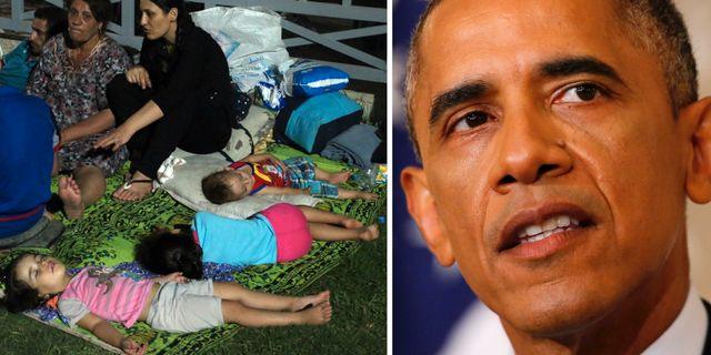 Obama vill ha klartecken fran kongressen