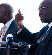 Ghanas flygminister Joseph Kofi Adda.  Jon Gambrell / TT NYHETSBYRÅN