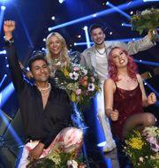 Alvaro Estrella, Klara Hammarström, Clara Klingenström och Paul Rey Claudio Bresciani/TT / TT NYHETSBYRÅN