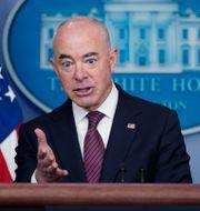 Alejandro Mayorkas, USA:s inrikessäkerhetsminister. Patrick Semansky / TT NYHETSBYRÅN