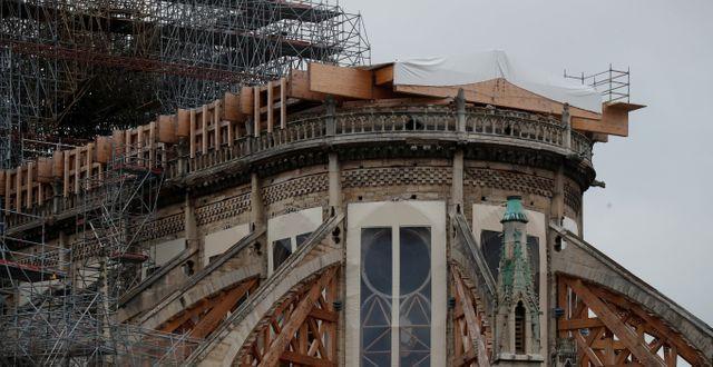 Notre-Dame i Paris, Frankrike. Gonzalo Fuentes / TT NYHETSBYRÅN