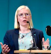 Karin Ernlund, distriktsordförande Centerpartiet i Stockholms stad. Jessica Gow/TT / TT NYHETSBYRÅN