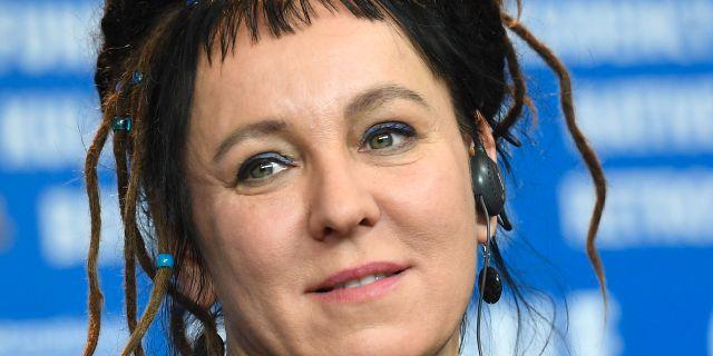 Polska författaren Olga Tokarczuk. BRITTA PEDERSEN / dpa