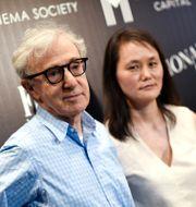Makarna Woody Allen och Soon-Yi Previn Evan Agostini / TT NYHETSBYRÅN
