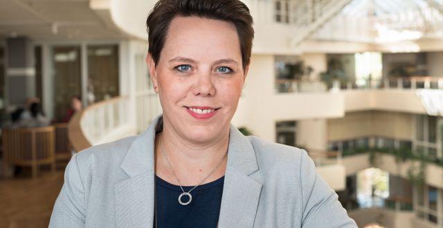 Marie Morell (M) är ordförande för sjukvårdsdelegationen på SKL. HANS ALM / ©Hans Alm