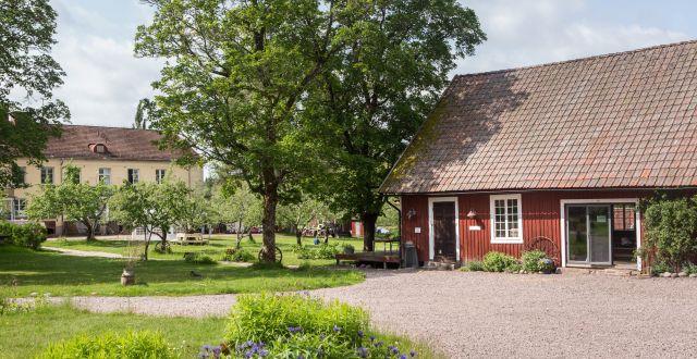 Kursgården Ängsbacka.  Pressbild Ängsbacka