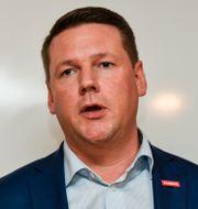 Tobias Baudin.  Anders Wiklund/TT / TT NYHETSBYRÅN