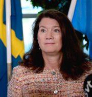 Ann Linde.  Amir Nabizadeh/TT / TT NYHETSBYRÅN