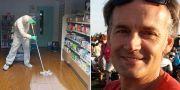 Steve Walsh, 53 år, är superspridaren i Storbritannien. TT & Servomex