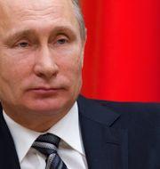 Vladimir Putin. Ivan Sekretarev / TT NYHETSBYRÅN