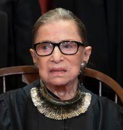 Ruth Bader Ginsburg. J. Scott Applewhite / TT NYHETSBYRÅN