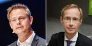 Robert Boije och Robert Bergqvist. TT.