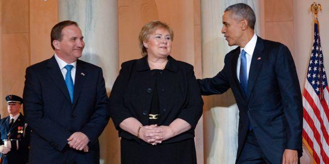 Nordisk toppmote nar obama kommer