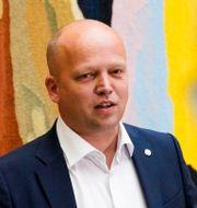 Partiledare Trygve Slagsvold Vedum. Heiko Junge / TT NYHETSBYRÅN