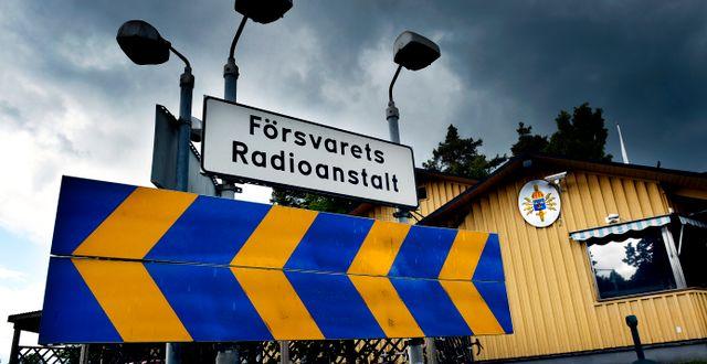 Försvarets radioanstalt på Lovö. Tomas Oneborg / SvD / TT / TT NYHETSBYRÅN
