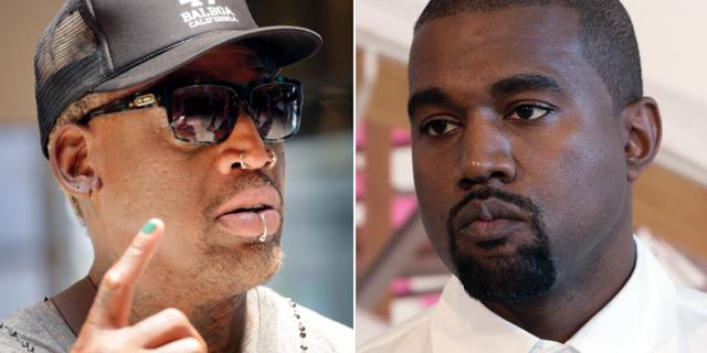Dennis Rodman / Kanye West