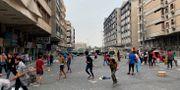 Det är fortsatt oroligt i Bagdad, i torsdags pågick protester.  Khalid Mohammed / TT NYHETSBYRÅN