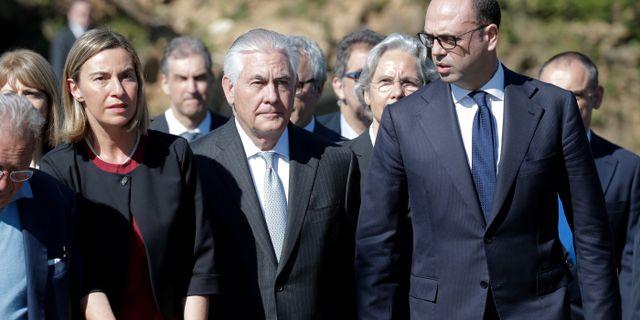 Tillerson pressades om rysslands