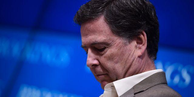 Den tidigare FBI-chefen James Comey.  BRENDAN SMIALOWSKI / AFP