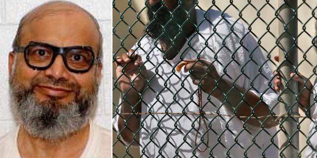 Arkivbilder. Saifullah Paracha/Arkivbild från Guantánamobasen. TT