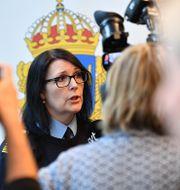 Petra Stenkula.  Johan Nilsson/TT / TT NYHETSBYRÅN