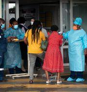 Akutmottagning i Pretoria. Themba Hadebe / TT NYHETSBYRÅN