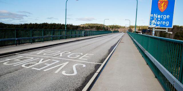 Gränsen vid Svinesundsbron. Vidar Ruud / TT NYHETSBYRÅN
