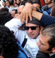 Maher i samband med gripandet, 2013. Ahmed Omar / TT / NTB Scanpix