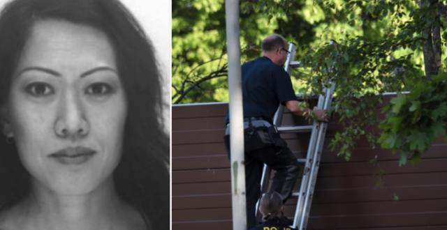 Lena Wesström / Poliser som arbetar på brottsplatsen Polisen / TT