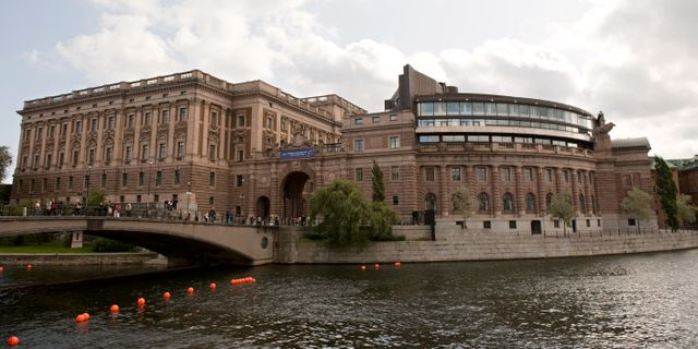 Riksdagshuset i Stockholm HENRIK MONTGOMERY / TT / TT NYHETSBYRÅN
