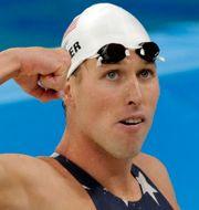 Klete Keller under OS i Peking 2008. Thomas Kienzle / TT NYHETSBYRÅN