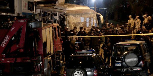 Egyptisk polis dodade fyra migranter