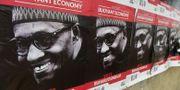 Valaffischer för president Buhari PIUS UTOMI EKPEI / AFP