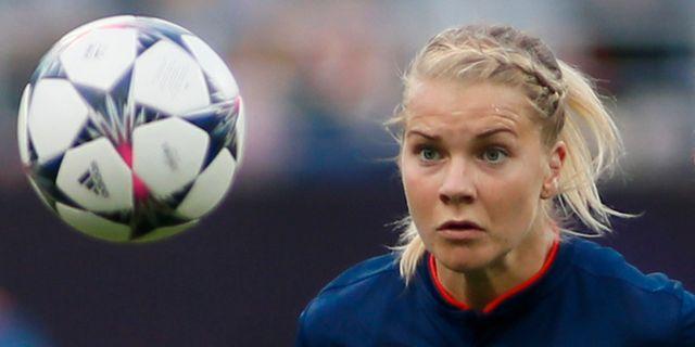 Ada Hegerberg.  VALENTYN OGIRENKO / TT NYHETSBYRÅN