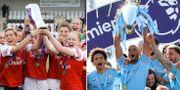 Arsenal tog hem engelska ligan på damsidan i år.  Bildbyrån
