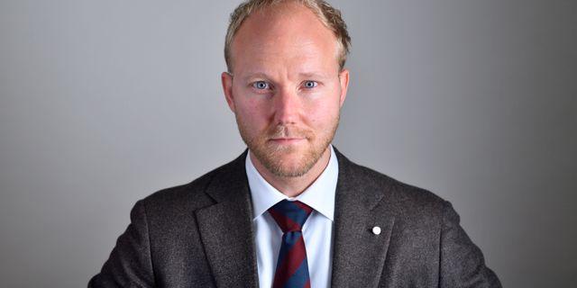 Ludvig Aspling. Henrik Montgomery/TT / TT NYHETSBYRÅN