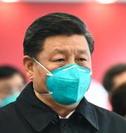 Kinas president Xi Jinping / FN:s högkvarter i New York TT