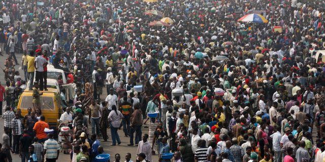 Fem kyrkor attackerade i nigeria