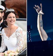 """Prins Carl Philip och prinsessan Sofias bröllop. Tim """"Avicii"""" Bergling. TT"""
