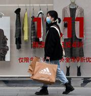 Illustrationsbild, Peking 2020.  Andy Wong / TT NYHETSBYRÅN