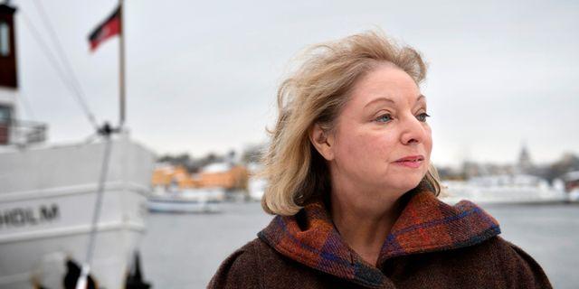 Författaren Hilary Mantel.  HENRIK MONTGOMERY / TT / TT NYHETSBYRÅN