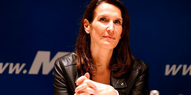 Sophie Wilmes. NICOLAS MAETERLINCK / Belga