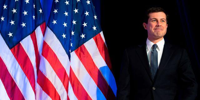 Pete Buttigieg. JIM WATSON / AFP