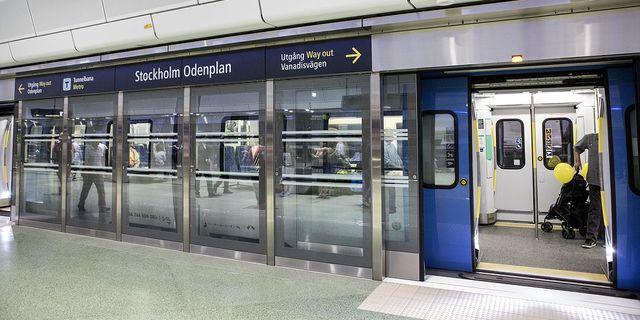 Citybanan i Stockholm. TT