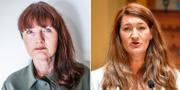 Marie Nilsson, ordförande IF Metall, och Susanna Gideonsson, ordförande LO.  TT