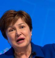 Kristalina Georgieva, IMF-chef.  Jose Luis Magana / TT NYHETSBYRÅN