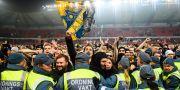 AIK:s guldfirande i Kalmar.  PETTER ARVIDSON / BILDBYRÅN