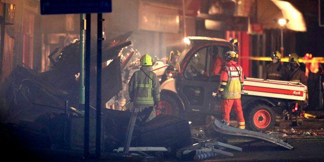 Explosionen inträffade den 25 februari. Aaron Chown / TT / NTB Scanpix