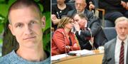 Migrationsforskaren Joakim Ruist / arkivbild från partiledardebatt  TT