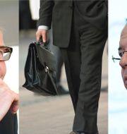 Tidigare vd:n Olof Persson och nuvarande vd:n Martin Lundsyedy